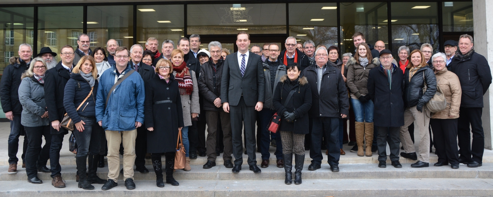 Schreiner In Stuttgart delegation bei mdl felix schreiner in stuttgart cdu ortsverband murg